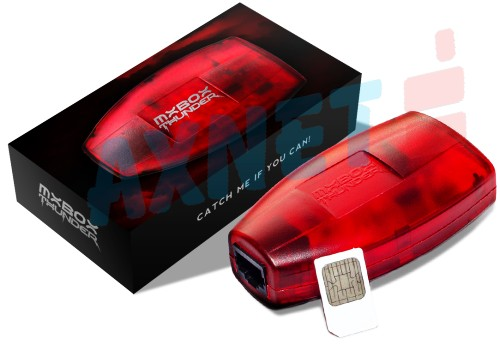 MXBox Thunder Red HTI dla MXKey